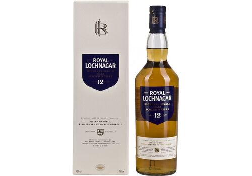 Royal Lochnagar 12 Years Old Single Malt Scotch Whisky, 70cl