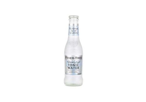 FEVER TREE NATURALLY LIGHT TONIC WATER - Case 24x200ml