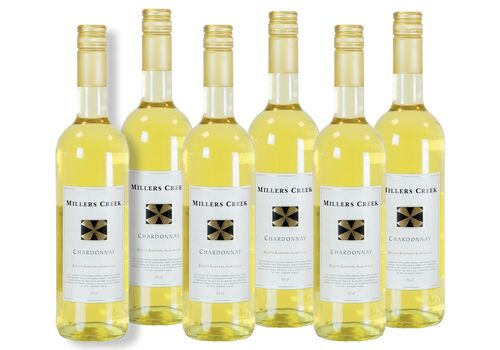 Millers Creek Unoaked Chardonnay 75cl (Case of 6)